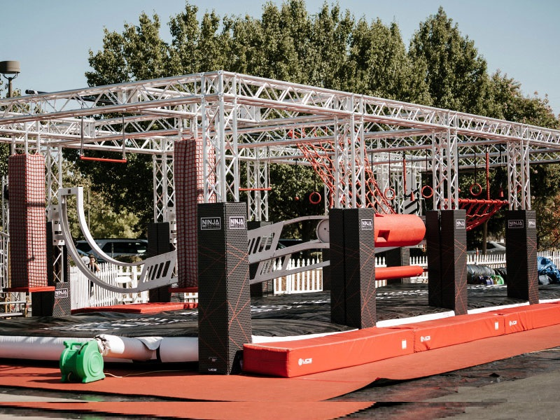 Ninja Warrior Obstable Course Truss Structure
