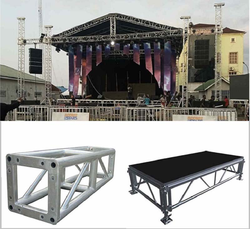 Cheap stage truss