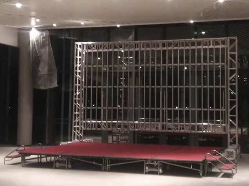 bolted box truss backdrop