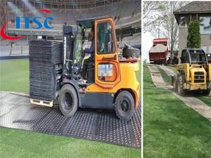 Lightweight Ground Protection Mats Skid steer 4 x 8 for Pathways