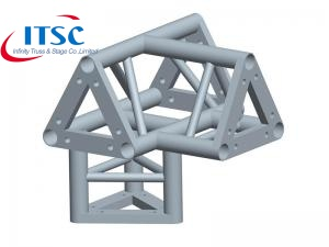 China Aluminum Long Multi Silver Bolt Triangule Truss