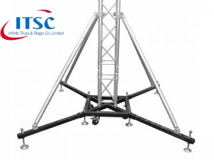 Lighting Truss Outrigger for Ground Support Tower