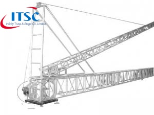 Truss Tower Stand Lifting Ladder Erecting System ITSC-A19