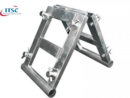 aluminum alloy truss book corner
