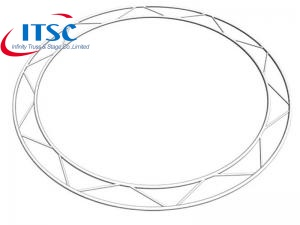 I beam Flat Lader Circular Lighting Truss