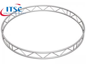 Alumimum Vertical Single Ladder Circular Truss