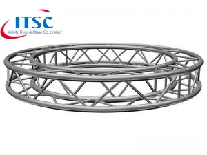 Lightweight Plated Silver Square Circular Truss Cheap