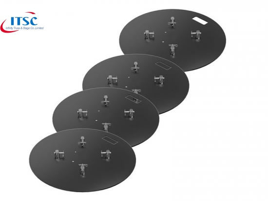 Round Steel Base plate