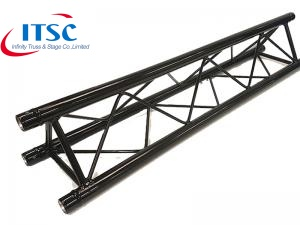 triangular black truss