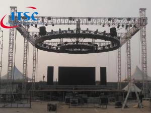 12x12m  Flat Roof lighting box Truss