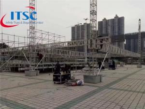 35x24m Stage Truss Flat Roof System