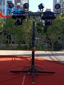 4m Lighting Stand with Single T bar