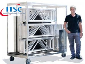 Portable Stage Trolley for bracing -ITSC Truss