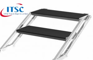 Stairs for 0.4m H Portable Modular Stages -ITSC Truss