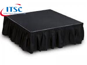 Skirts for Foldable Stages -ITSC Truss