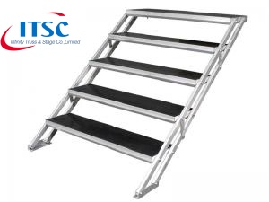 Stairs for 1.2m H Portable Stages -ITSC Truss