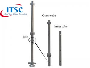 Aluminium Portable Modular Stage Pillars -ITSC Truss