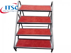 Folding Stage Stairs with for 0.4-0.6 m H Folding Stage Decks