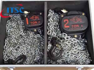 2 Ton Stainless Steel Manual Chain Hoist Updated for Stage Truss Rigging