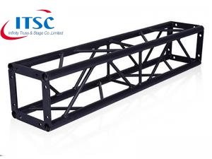 Black steel truss
