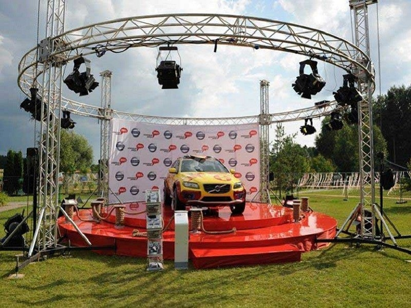 Exhibition Truss Kits System for Outdoor Car Display Show