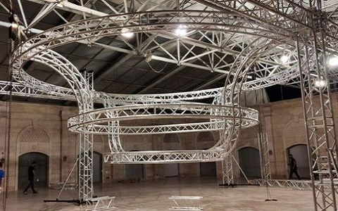 Circular Lighting Truss hotsale in USA for Hire Business