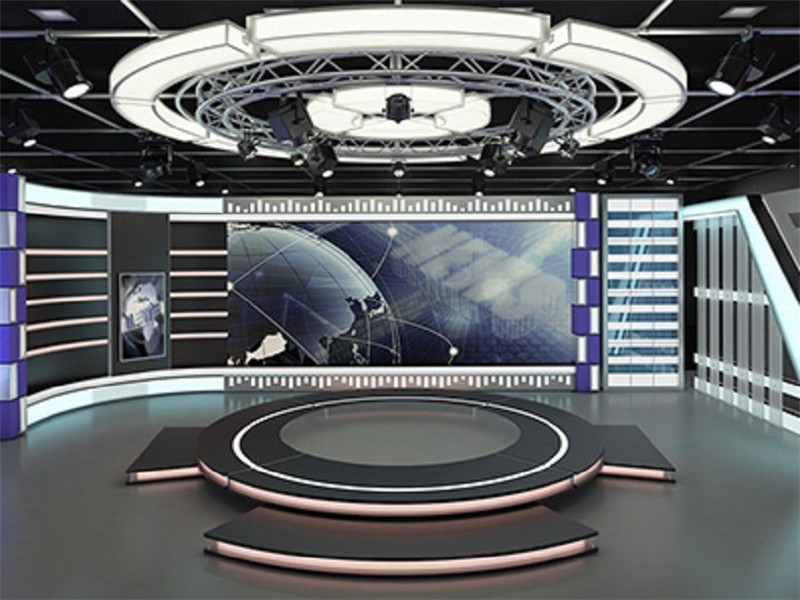 3D Visual TV Studio Aluminium Circular Truss System