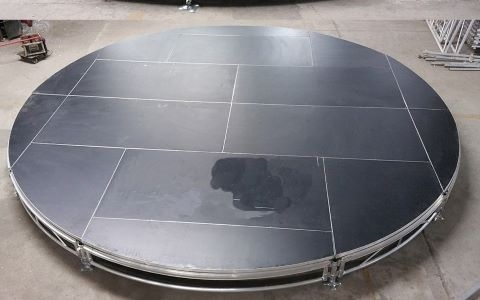 Aluminium Circular Stage for wedding Party