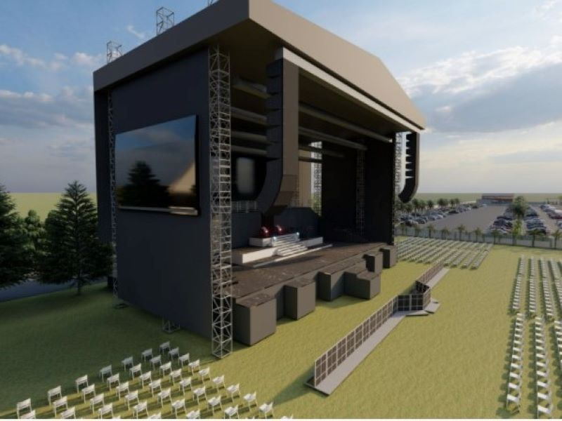 Music Concert Stage for Amusement park in Nigeria