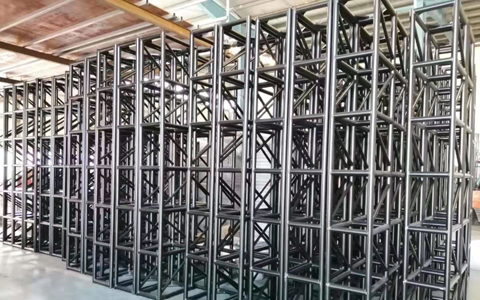 Exposed Black Truss 400 x 400 mm in Stock