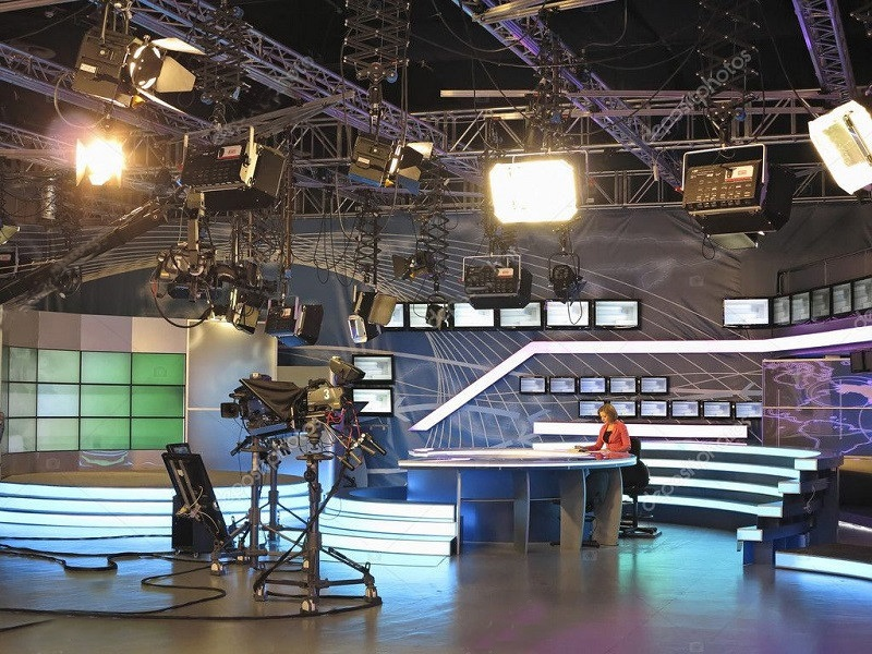 Television Broadcast Electrion Studio Truss System