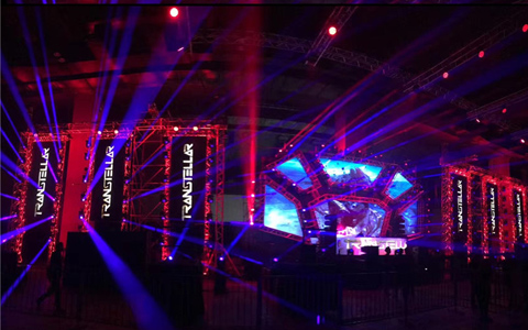 Customized Epsilon Lighting Truss for LED Wall Stage design in Malaysia LED Wall