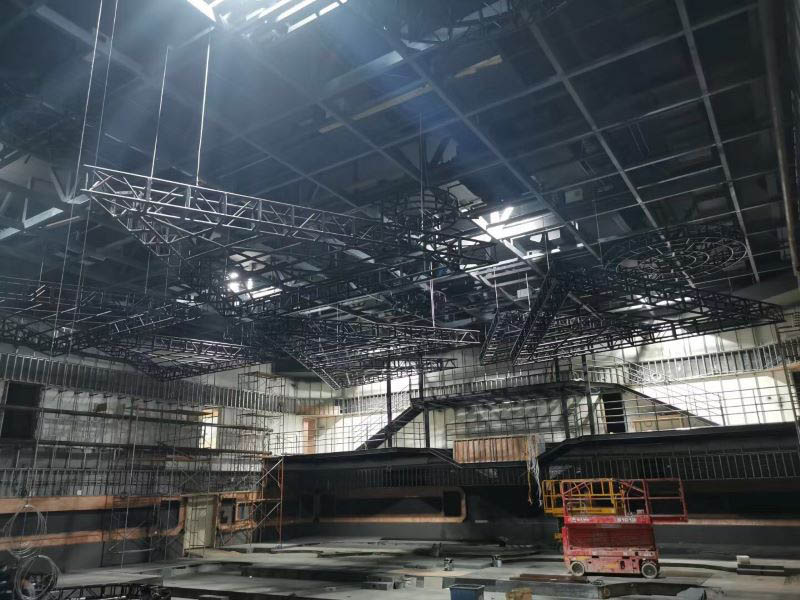 Black Box Truss Concert Stage Tent Structure Equipment